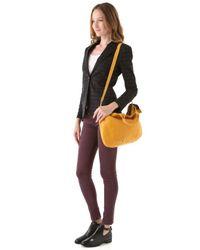 Clare V. Yellow Messenger Bag