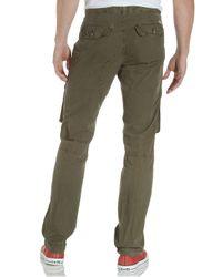 Converse Green Cargo Pants  for men