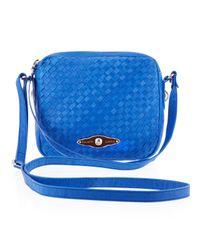 Elliott Lucca Blue Woven Camera Bag