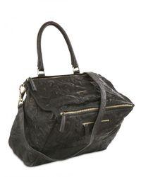 Givenchy Black Large Pandora Washed Leather Bag