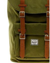Herschel Supply Co. Green Little America Backpack for men
