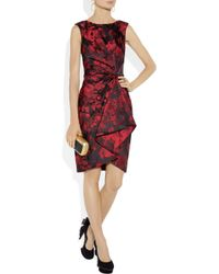 Jason Wu Multicolor Wonka Floral Satinbrocade Dress