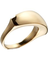 Maiyet - Yellow Gold Sculpt Ring - Lyst