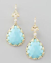 Penny Preville | Blue Sleeping Beauty Turquoise Earrings | Lyst