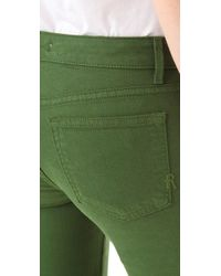 Rich & Skinny Green Legacy Stretch Jeans