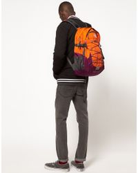 The North Face Orange Borealis Backpack for men