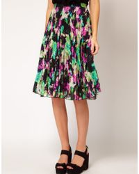 Whistles Multicolor Lottie Skirt in Luna Print