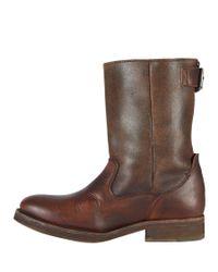 AllSaints Brown New Gaucho Boot