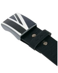 Ben Sherman Black Union Belt for men