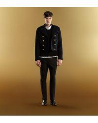 Gucci - Black Wool Crewneck Sweater for Men - Lyst