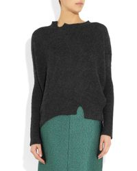 Vanessa Bruno   Gray Alpaca Sweater   Lyst