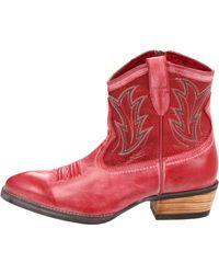 Ariat | Red Ariat Womens Billie Western Boot | Lyst