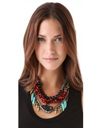 DANNIJO - Metallic Filbert Necklace - Lyst