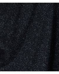 AllSaints Black Lurex Torque Dress