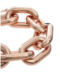 ASOS Metallic Open Link Chain Bracelet