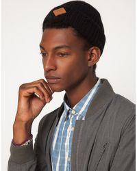 Paul Smith | Black Beanie Hat for Men | Lyst
