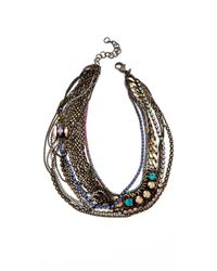 Iosselliani - Multicolor Multiwires Necklace - Lyst