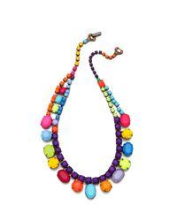 Tom Binns Riri Multicolored Necklace