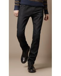 Burberry Brit | Blue Shoreditch Skinny Fit for Men | Lyst