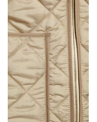 Chloé | Natural Quilted Jacket | Lyst