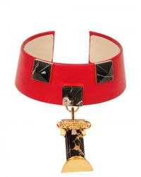 Delfina Delettrez | Red Column Collar Necklace | Lyst