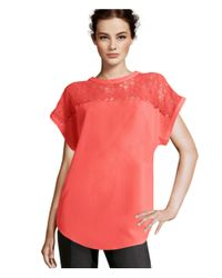 H&M | Red Blouse | Lyst