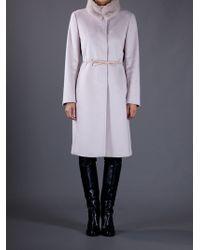 Max Mara Studio Pink Solange Coat