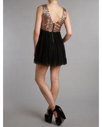 TFNC | Black Sequin Top Prom Dress | Lyst