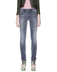 Acne Studios - Gray Flex Pavement Jeans - Lyst