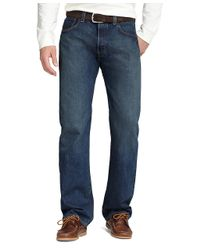 Brooks Brothers - Blue 501 Original Fit Jeans for Men - Lyst