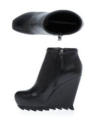 Camilla Skovgaard - Black Ankle Wedge Boot - Lyst