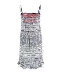 Odd Molly - 102 Mid Blue Ikat Strap Dress - Lyst