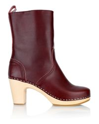 Swedish Hasbeens Brown Classic Leather Boots