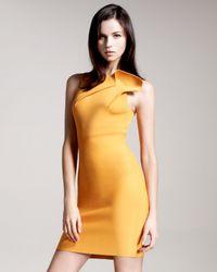 Roland Mouret - Yellow Wilkes Sheath Dress - Lyst