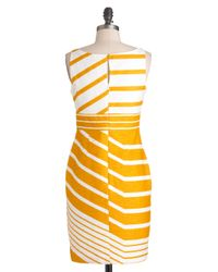 ModCloth - Yellow Sweet As Honeycomb Dress - Lyst