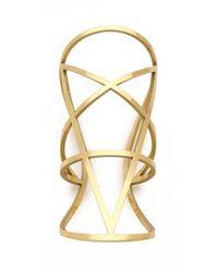 Pamela Love Metallic Brass Pentagram Cuff