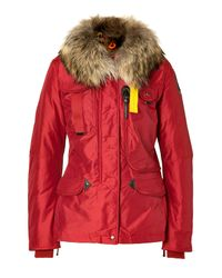 Parajumpers | Red Denali Down Jacket | Lyst