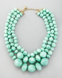 kate spade new york | Blue Give-It-A -Swirl Necklace | Lyst