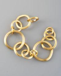 Marco Bicego | Metallic Jaipur Gold Link Bracelet | Lyst
