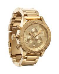 Nixon   Gold 4220 Chrono Watch  for Men   Lyst
