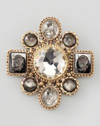 Stephen Dweck - Metallic Multistation Brooch - Lyst