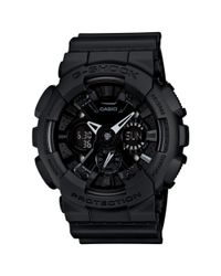 G-Shock | Analog Digital Blackout Black Resin Strap Watch  for Men | Lyst