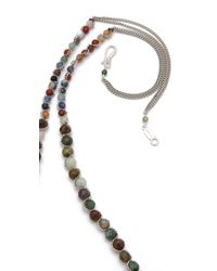 Chan Luu Yellow Agate Rosary Necklace