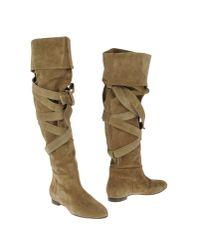 Chloé | Green Boots | Lyst