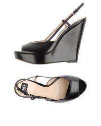 Dolce & Gabbana - Black Wedge - Lyst