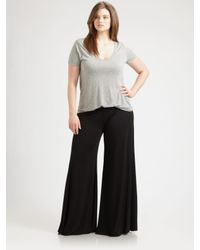 Rachel Pally Black Wide Leg Trousers