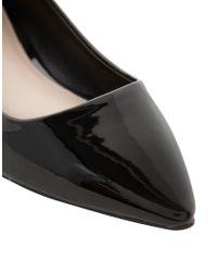 Carvela Kurt Geiger - Black Hannah Pointed Flat Shoes - Lyst