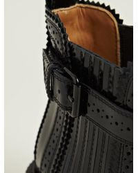 Givenchy | Black Givenchy Womens Spazz Leather Ankle Boots | Lyst