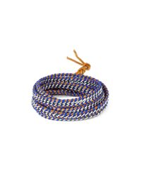 Chan Luu - Purple Five Wrap Chain Link Bracelet - Lyst