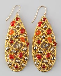 Alexis Bittar - Multicolor Siyabona Woven Earrings - Lyst